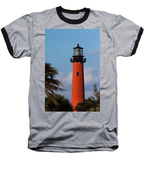Jupiter Inlet Lighthouse Baseball T-Shirt
