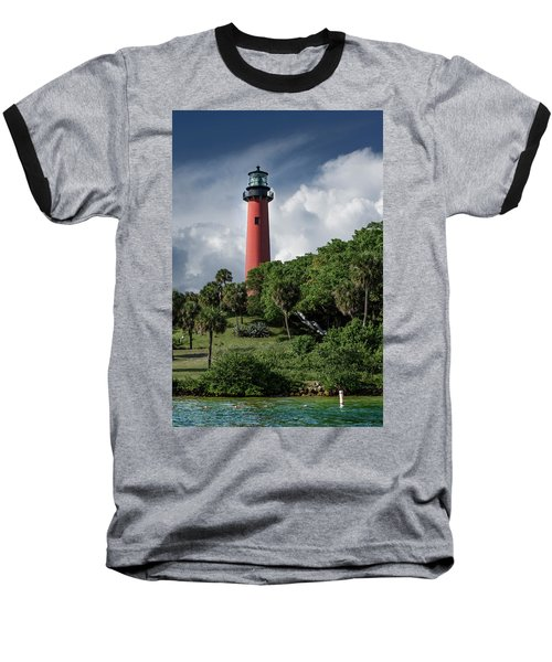 Jupiter Inlet Lighthouse Baseball T-Shirt