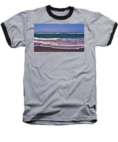 Jupiter Island Beach Baseball T-Shirt