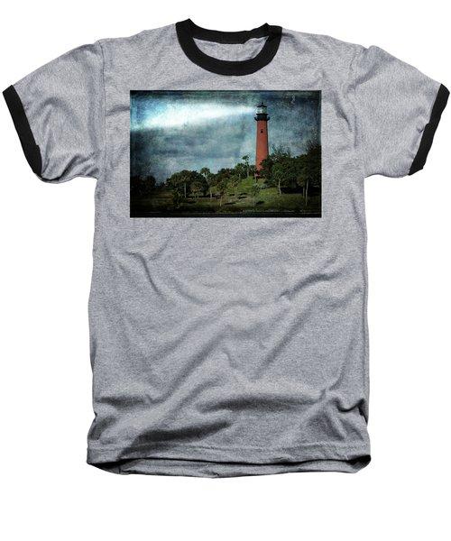 Jupiter Lighthouse-2a Baseball T-Shirt