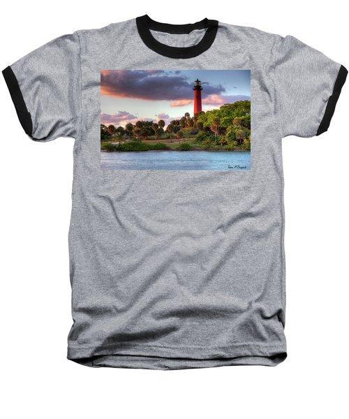 Jupiter Lighthouse Baseball T-Shirt