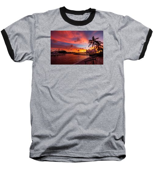 Jupiter Sunrise Baseball T-Shirt