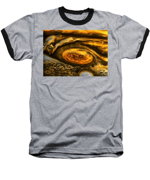 Jupiter's Storms. Baseball T-Shirt
