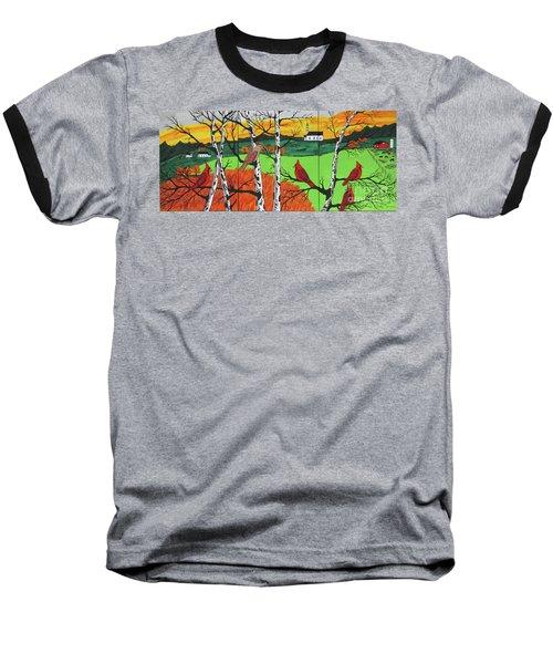 Just A Beautiful Day Baseball T-Shirt