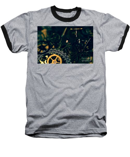 Just A Cog In The Machine 1 Baseball T-Shirt