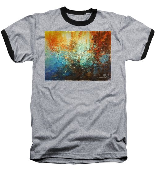 Baseball T-Shirt featuring the digital art Just A Happy Day by Delona Seserman