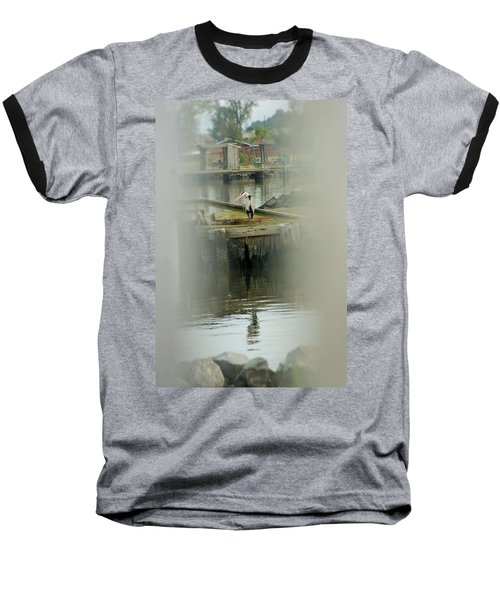 Baseball T-Shirt featuring the photograph Just A Little Older With A Little More Grey... by John Glass