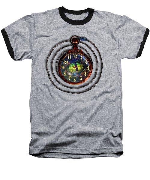 Just A Matter Of Time Baseball T-Shirt