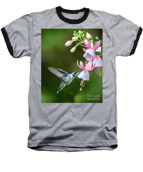 Just A Sip Baseball T-Shirt by Amy Porter