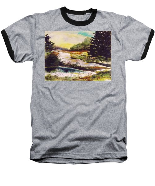 Just After Daybreak Baseball T-Shirt