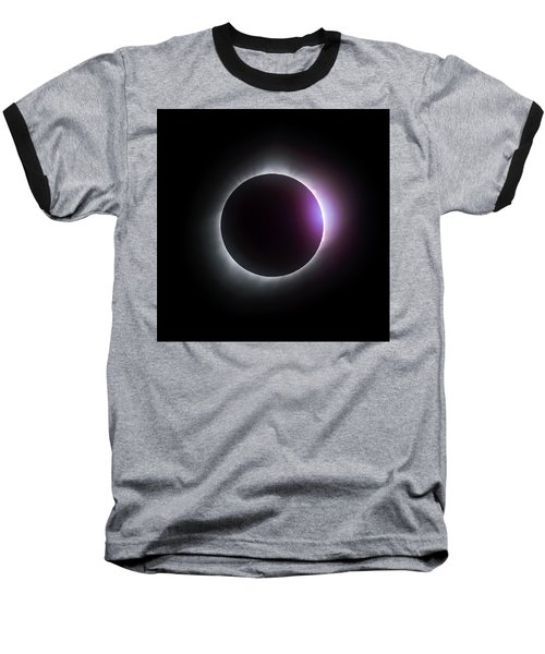 Just After Totality - Solar Eclipse August 21, 2017 Baseball T-Shirt