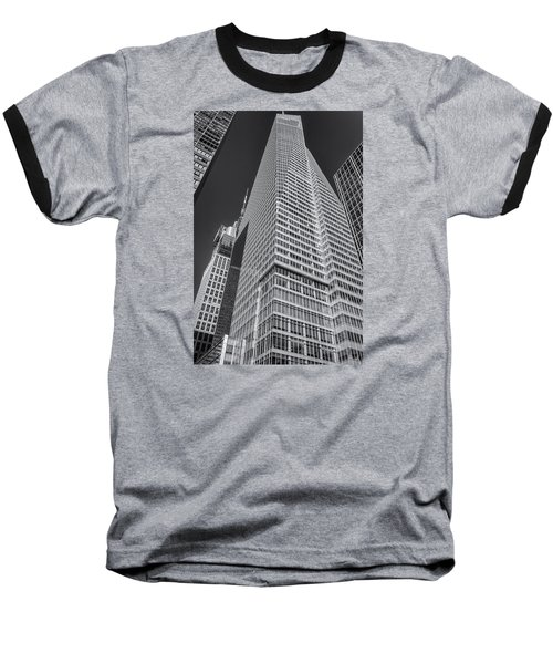 Just Another Skyscraper 2 Baseball T-Shirt by Sabine Edrissi