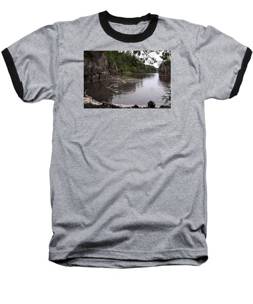 Baseball T-Shirt featuring the photograph Just Around The Bend by Sandra Updyke