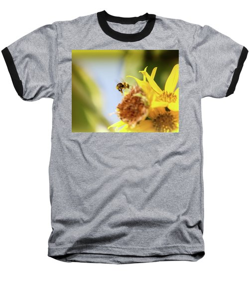 Baseball T-Shirt featuring the photograph Just Beeing Me by Annette Hugen