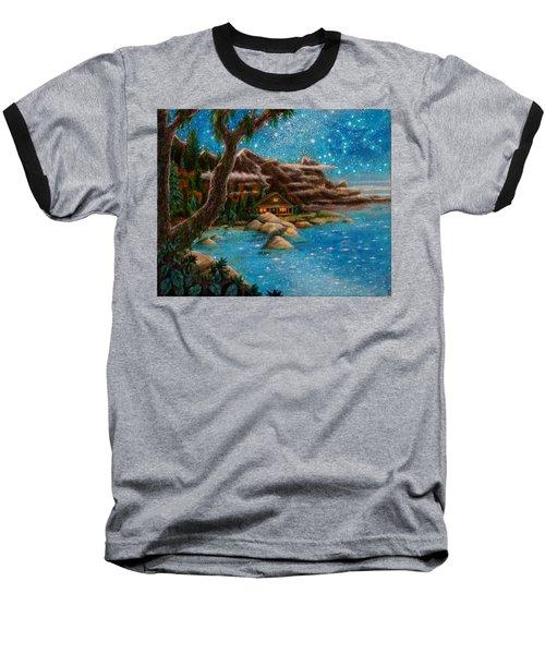 Just Before Dawn Baseball T-Shirt by Matt Konar