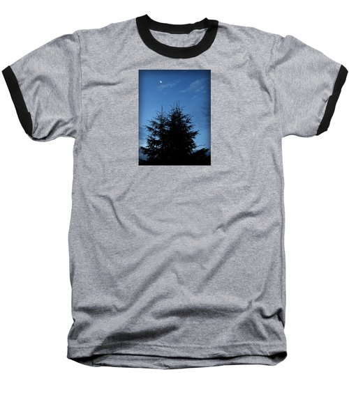 Baseball T-Shirt featuring the photograph Just Before Sunrise by Robin Regan