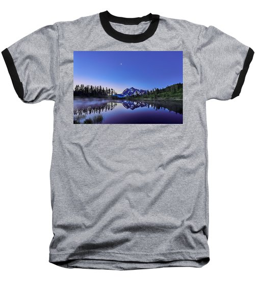 Baseball T-Shirt featuring the photograph Just Before The Day by Jon Glaser