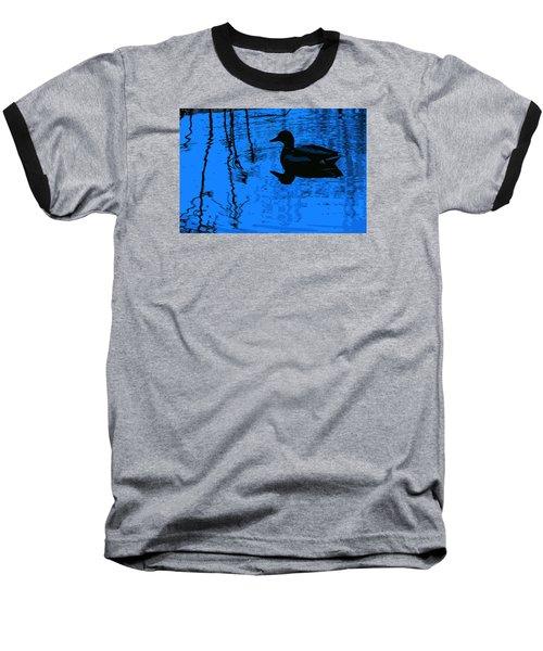 Just Floating Along Baseball T-Shirt by John Rossman