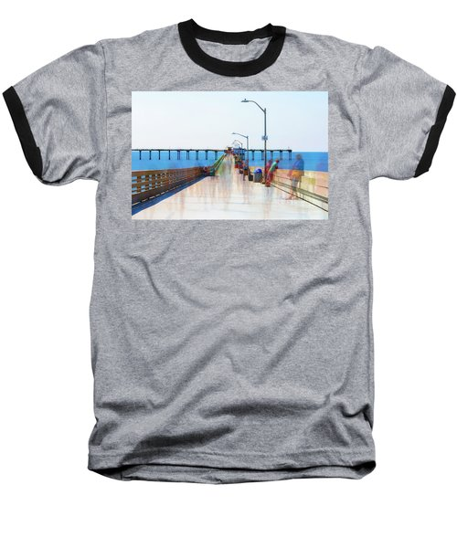 Just Hanging Out In The Summertime Baseball T-Shirt by Joseph S Giacalone