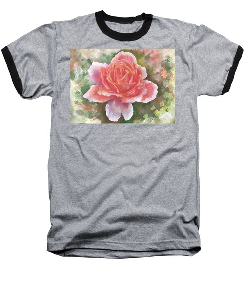 Just Joey Rose From The Acrylic Painting Baseball T-Shirt