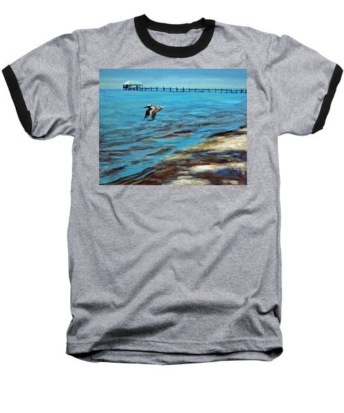 Just Passing By Baseball T-Shirt by Suzanne McKee