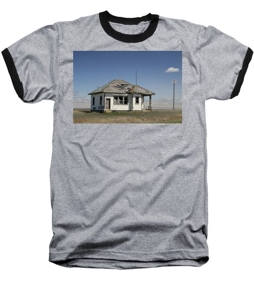 Just Plain Lonely Baseball T-Shirt by Christopher McKenzie
