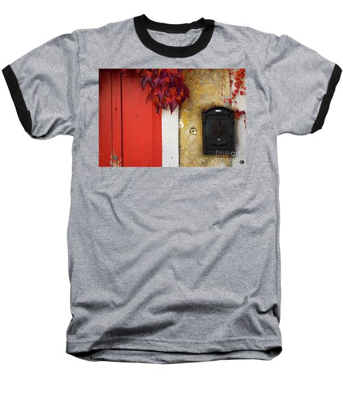 Just Red Baseball T-Shirt