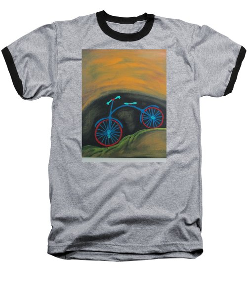 Baseball T-Shirt featuring the painting Just Roamin by Sharyn Winters