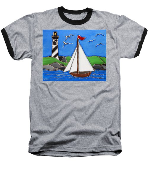 Just Sailing By Baseball T-Shirt