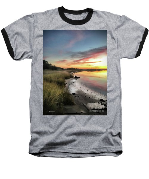Just The Two Of Us At Sunset Baseball T-Shirt by Phil Mancuso