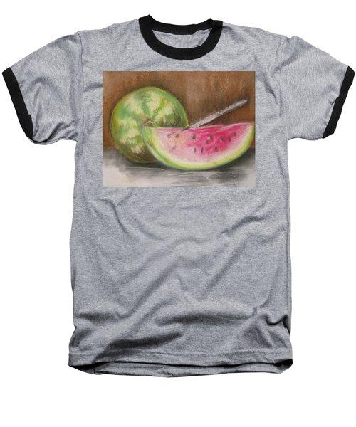 Just Watermelon Baseball T-Shirt