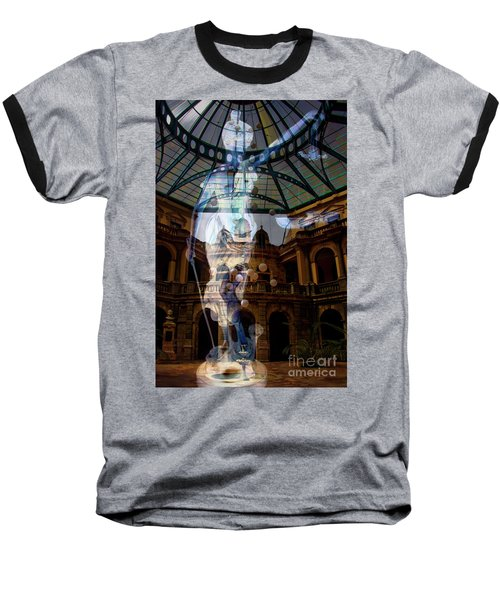 Baseball T-Shirt featuring the photograph Justice Is Blind by Al Bourassa