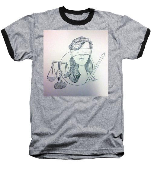 Justice Baseball T-Shirt
