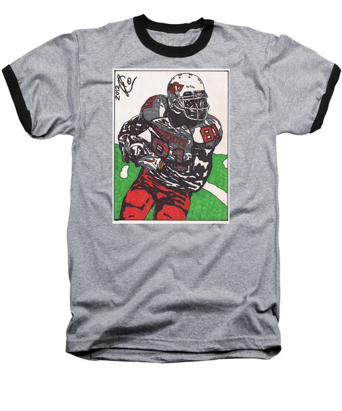Justin Blackmon 2 Baseball T-Shirt by Jeremiah Colley