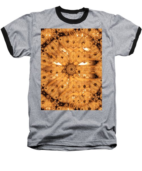 Baseball T-Shirt featuring the digital art Juxtapose by Ron Bissett