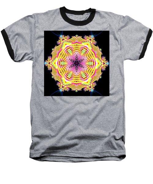 Baseball T-Shirt featuring the digital art Jyoti Ahau 112 by Robert Thalmeier