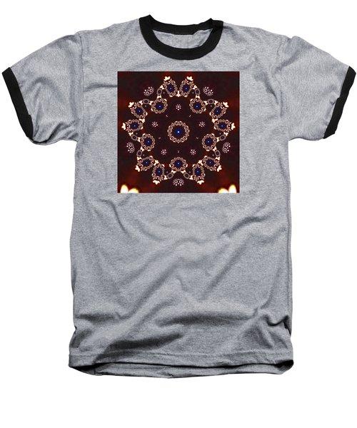 Baseball T-Shirt featuring the digital art Jyoti Ahau 41 by Robert Thalmeier