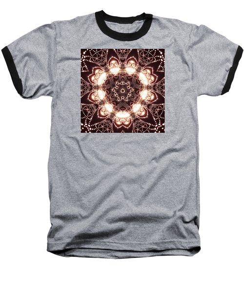 Baseball T-Shirt featuring the digital art Jyoti Ahau 45 by Robert Thalmeier