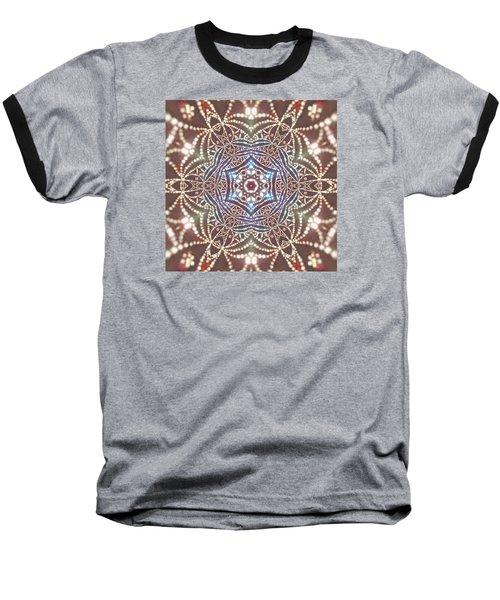 Baseball T-Shirt featuring the digital art Jyoti Ahau 6 by Robert Thalmeier