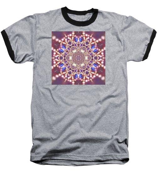 Baseball T-Shirt featuring the digital art Jyoti Ahau 7 by Robert Thalmeier