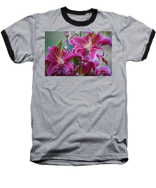 K And D Lilly 4 Baseball T-Shirt