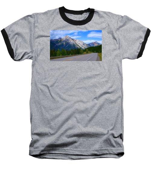 Kananaskis Country Baseball T-Shirt by Heather Vopni