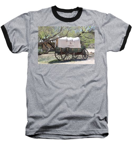 K L Bar Wagon Baseball T-Shirt