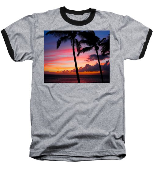 Kaanapali Sunset  Kaanapali  Maui Hawaii Baseball T-Shirt