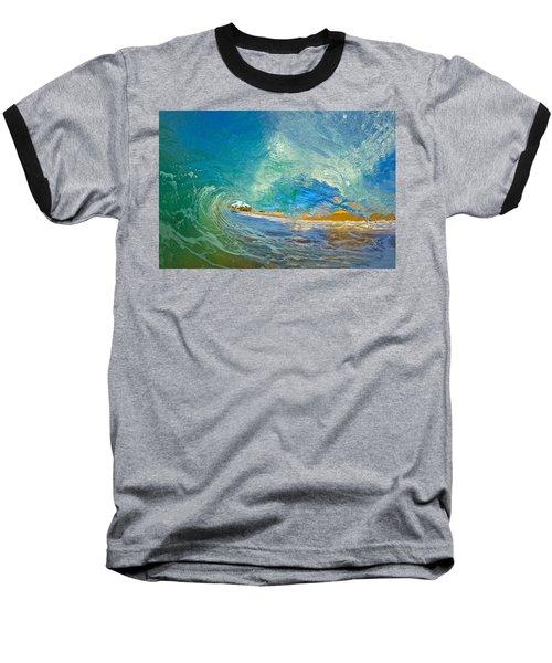 Kaanapali Wave Baseball T-Shirt by James Roemmling