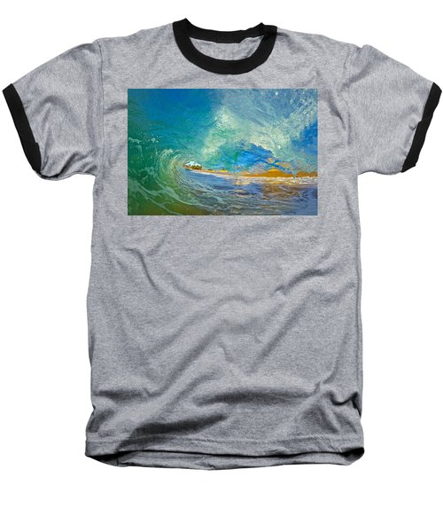 Kaanapali Wave Baseball T-Shirt