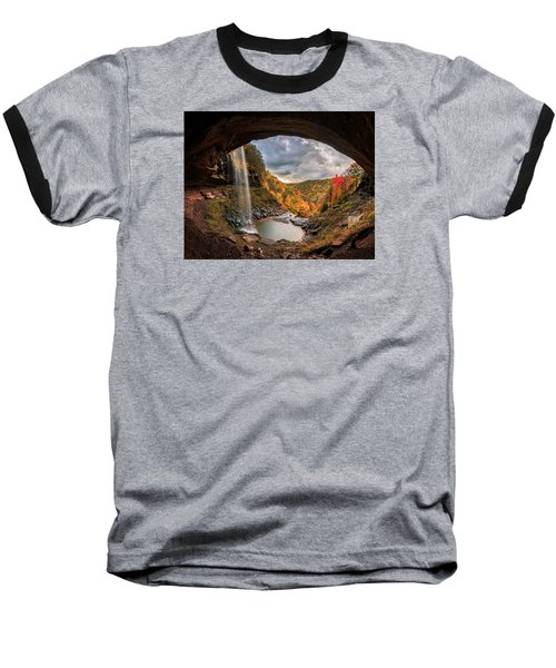 Kaaterskill Falls Baseball T-Shirt