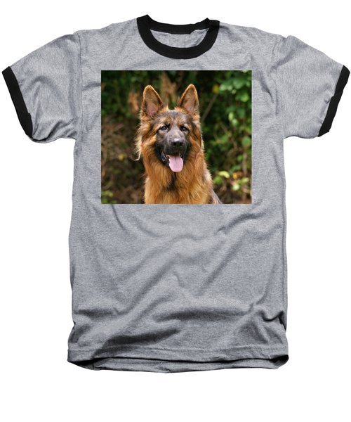 Kaiser - German Shepherd Baseball T-Shirt