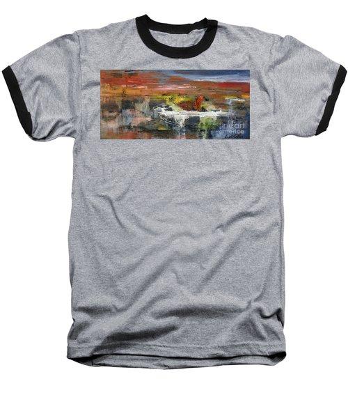 Kaiser Pond Baseball T-Shirt by Lisa Kaiser