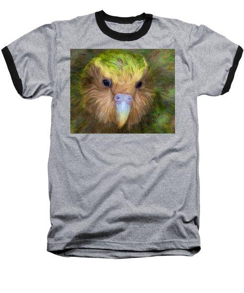 Kakapo Baseball T-Shirt
